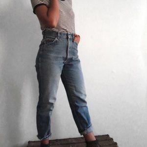 Lee High Waist Blue Jeans